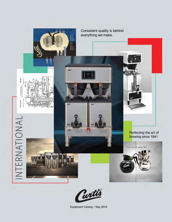 Curtis International Equipment Catalog 2018