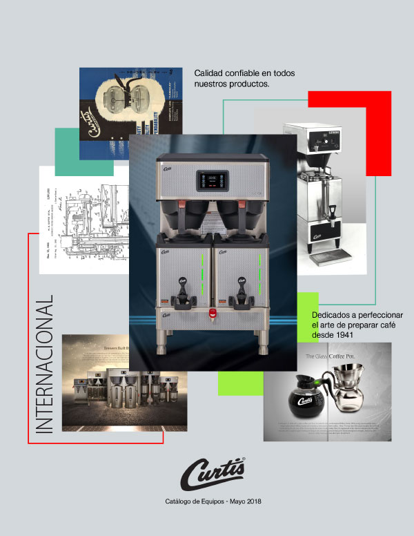 Curtis Spanish Equipment Catalog 2018