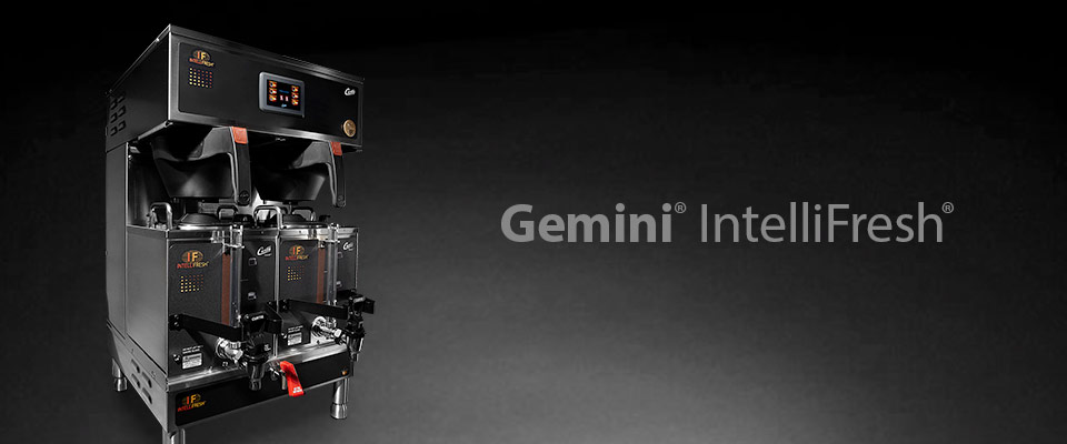G4 Gemini with Intellifresh Coffee Brewing System