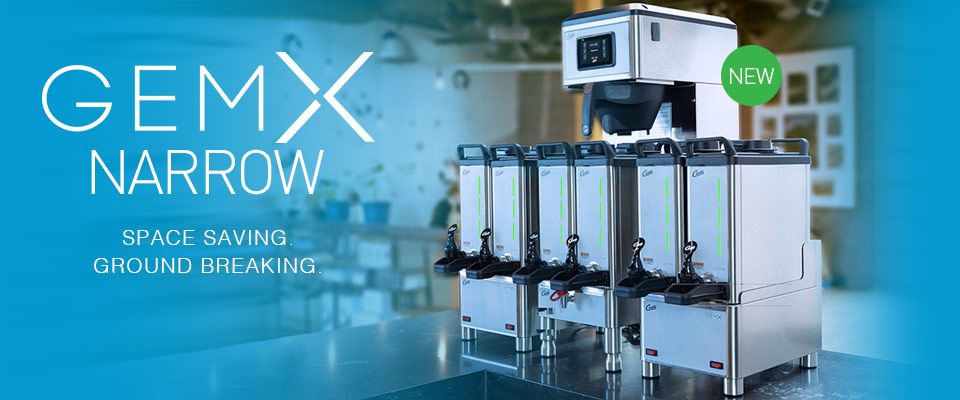 GemX Narrow Commercial Coffee Brewer