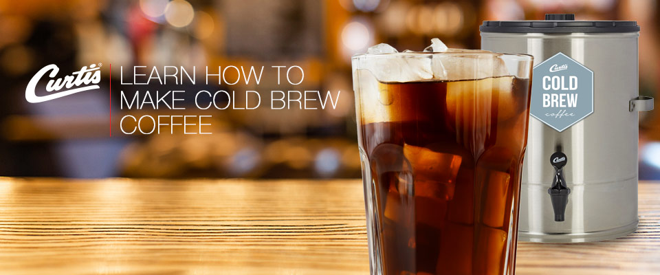 How to Cold Brew with Curtis